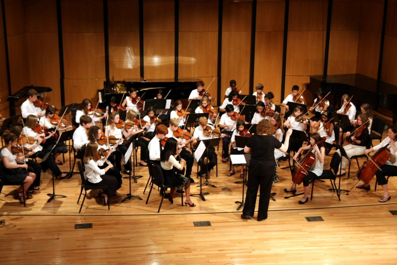 Orchestra concert at Memphis Suzuki Institute