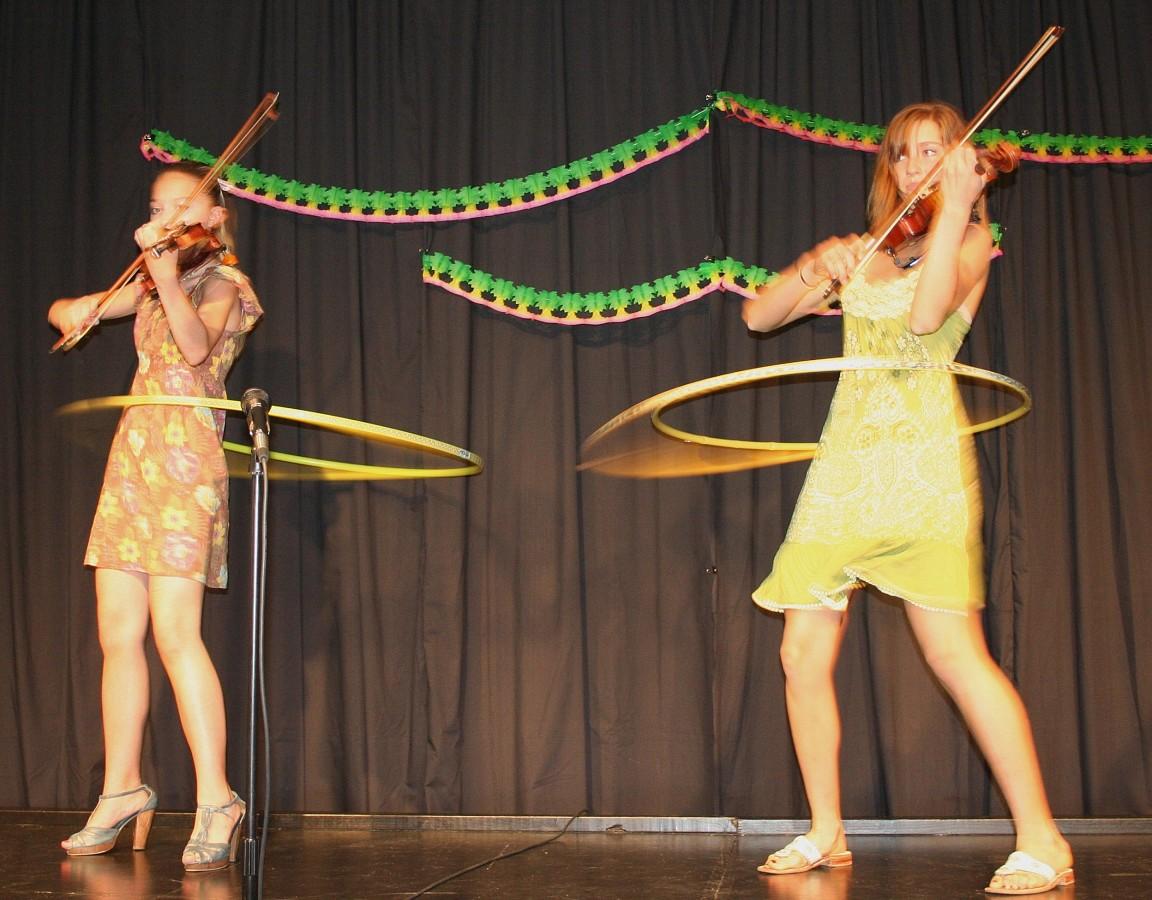 Talent night at Ottawa Suzuki Institute