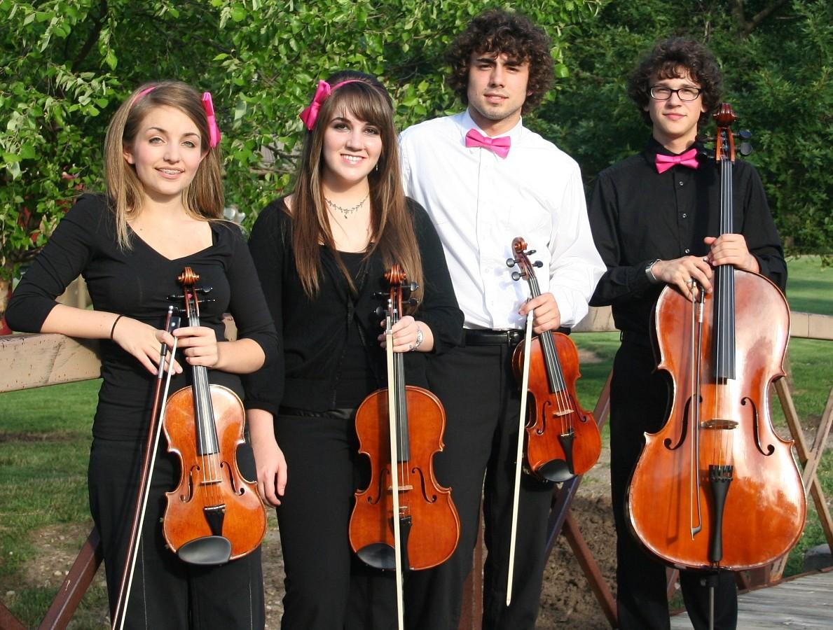 String quartet at Ottawa Suzuki Institute