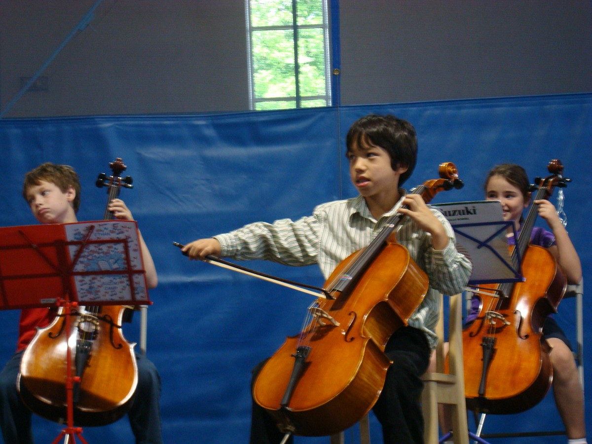 New England Suzuki Institute cello students