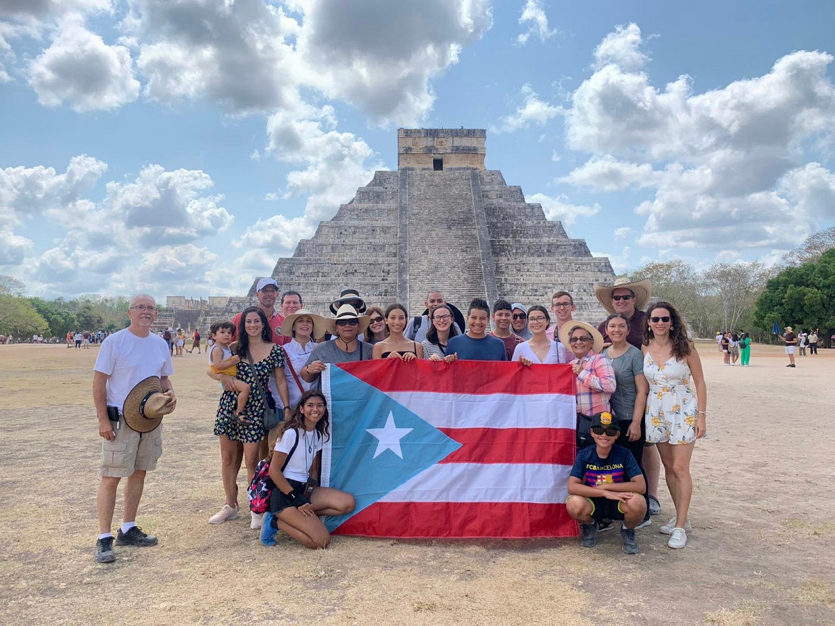 Chichén Itzá-camino a la Convención Suzuki