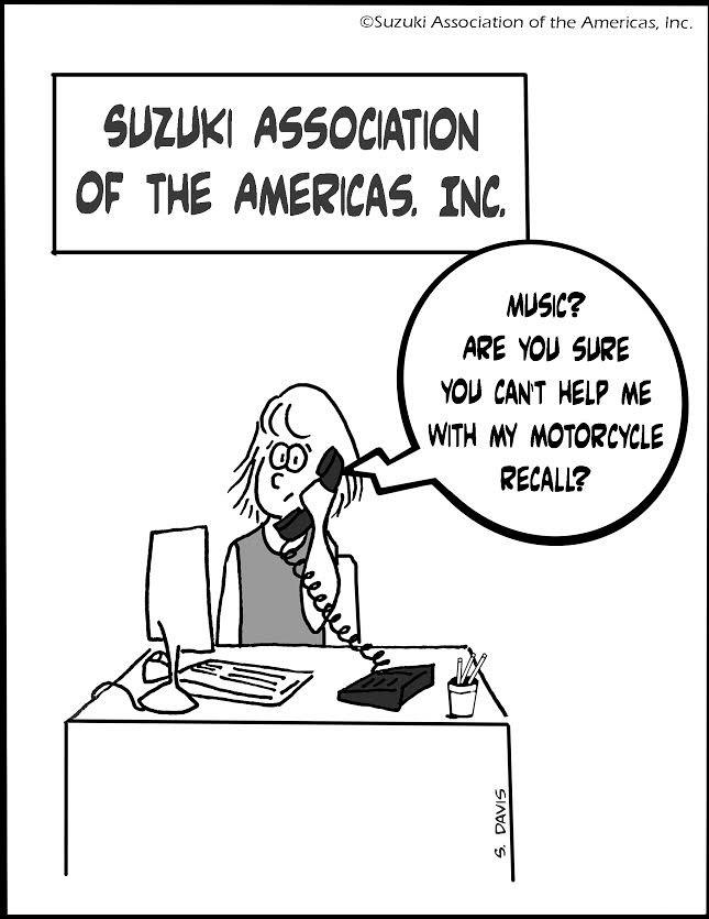 Motorcycle Help Cartoon