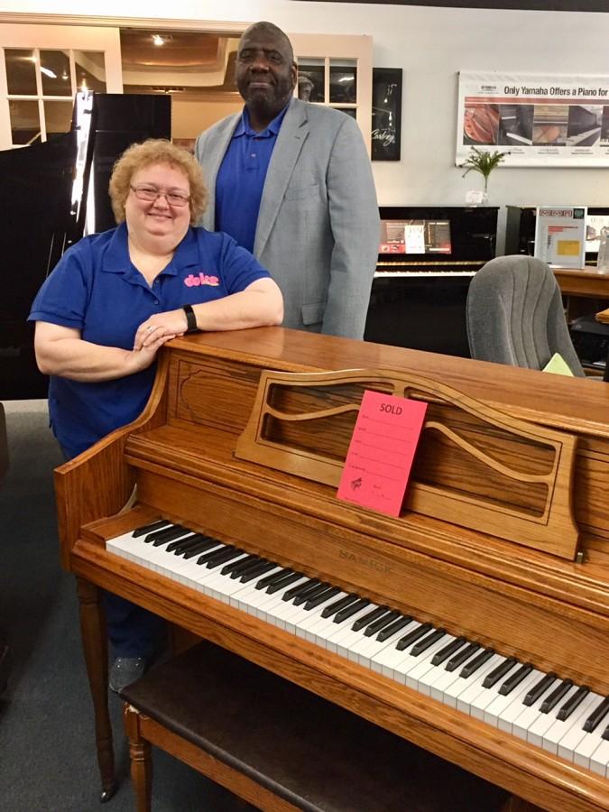 Danette Schuh Hurricane Relief Piano