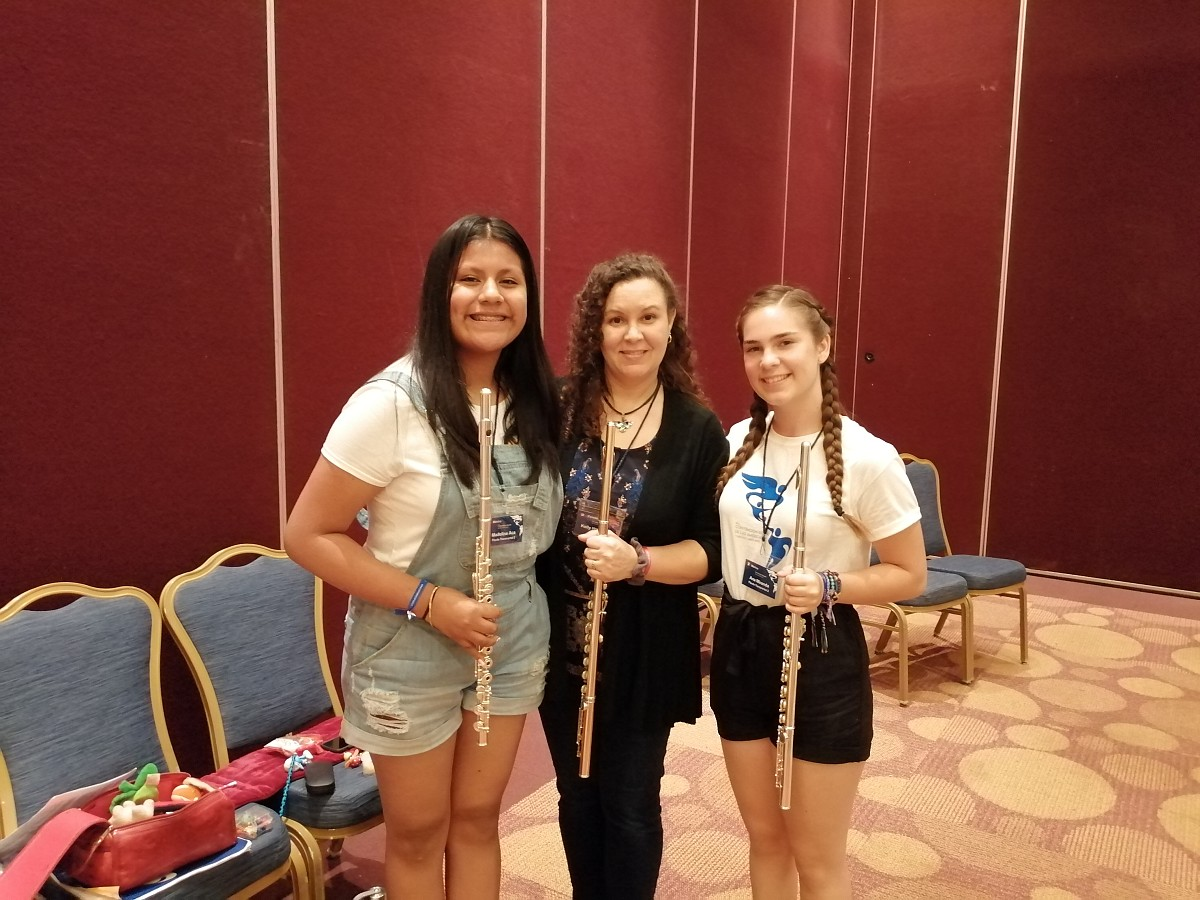 Flute Students from Puebla City, México