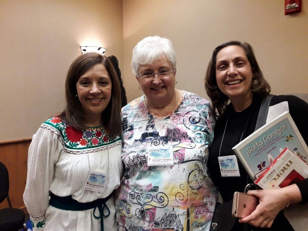 Dorothy Jones, Lorena Leal and Leslie Mizrahi