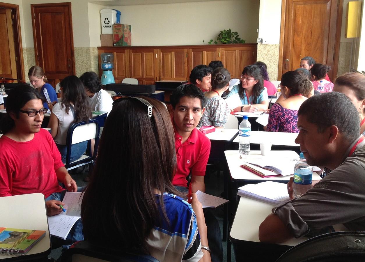 Peru Book One Class