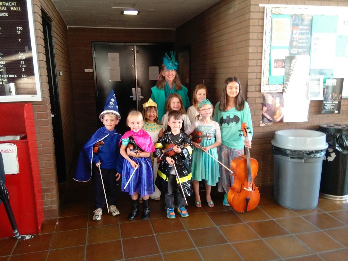 Halloween Group Class