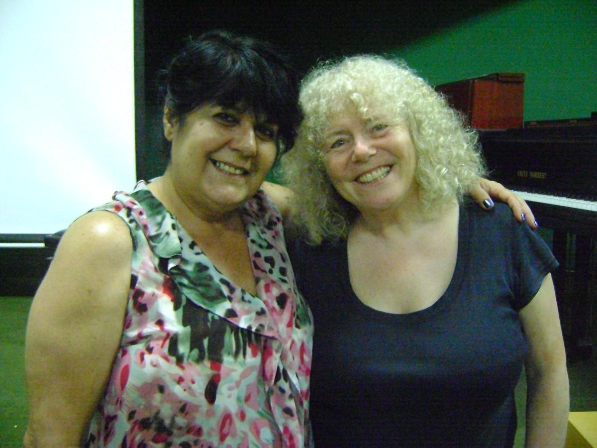 Teacher Caroline Fraser