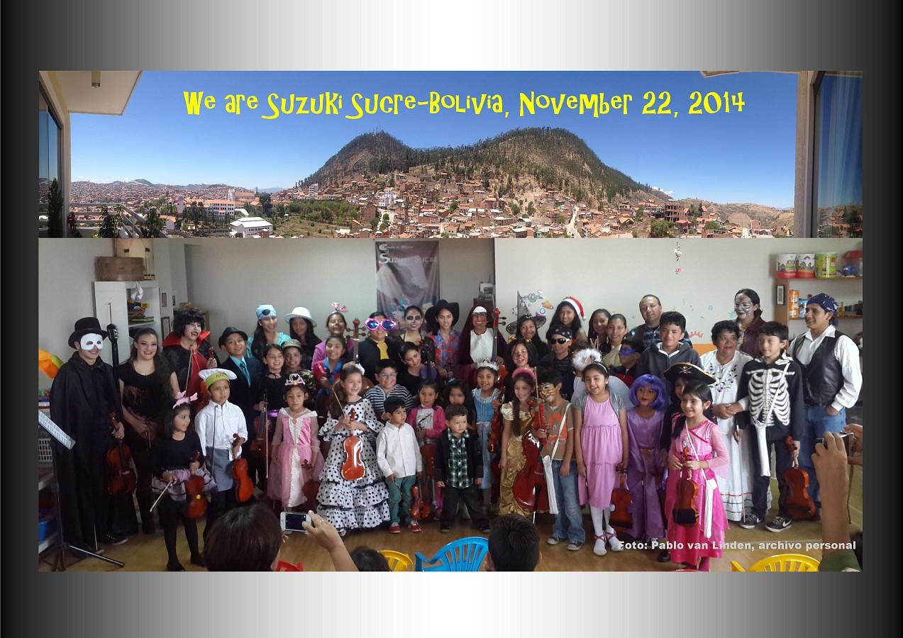 Snack Concert 2014 Suzuki Sucre, Bolivia