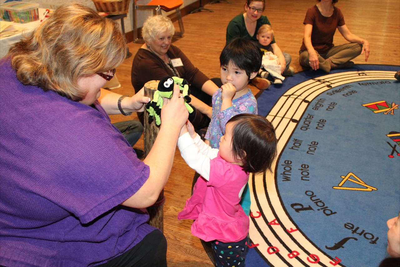 Suzuki Early Childhood Education Baby Class with Sharon Jones in Austin, TX, January 2012