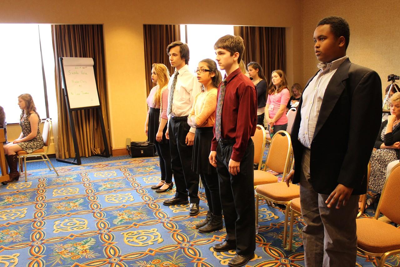 Suzuki Voice—2014 SAA Conference