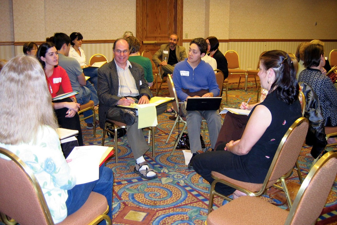 Group discussion at the 9th International Research Symposium on Talent Education