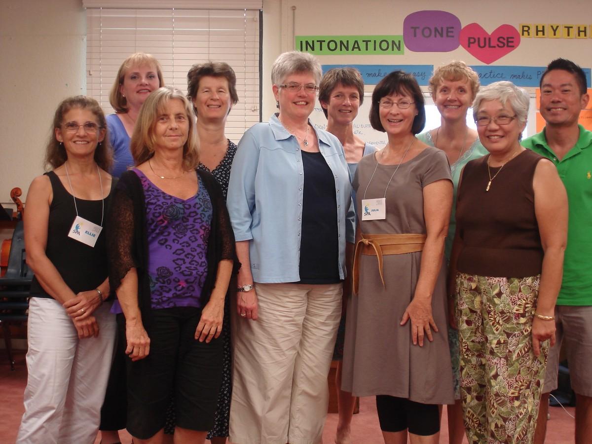 Hawaii SPA Course Participants