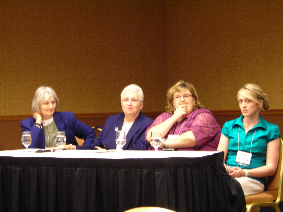 Suzuki ECE Panel with Dorothy and Sharon Jones at the 2008 Conference