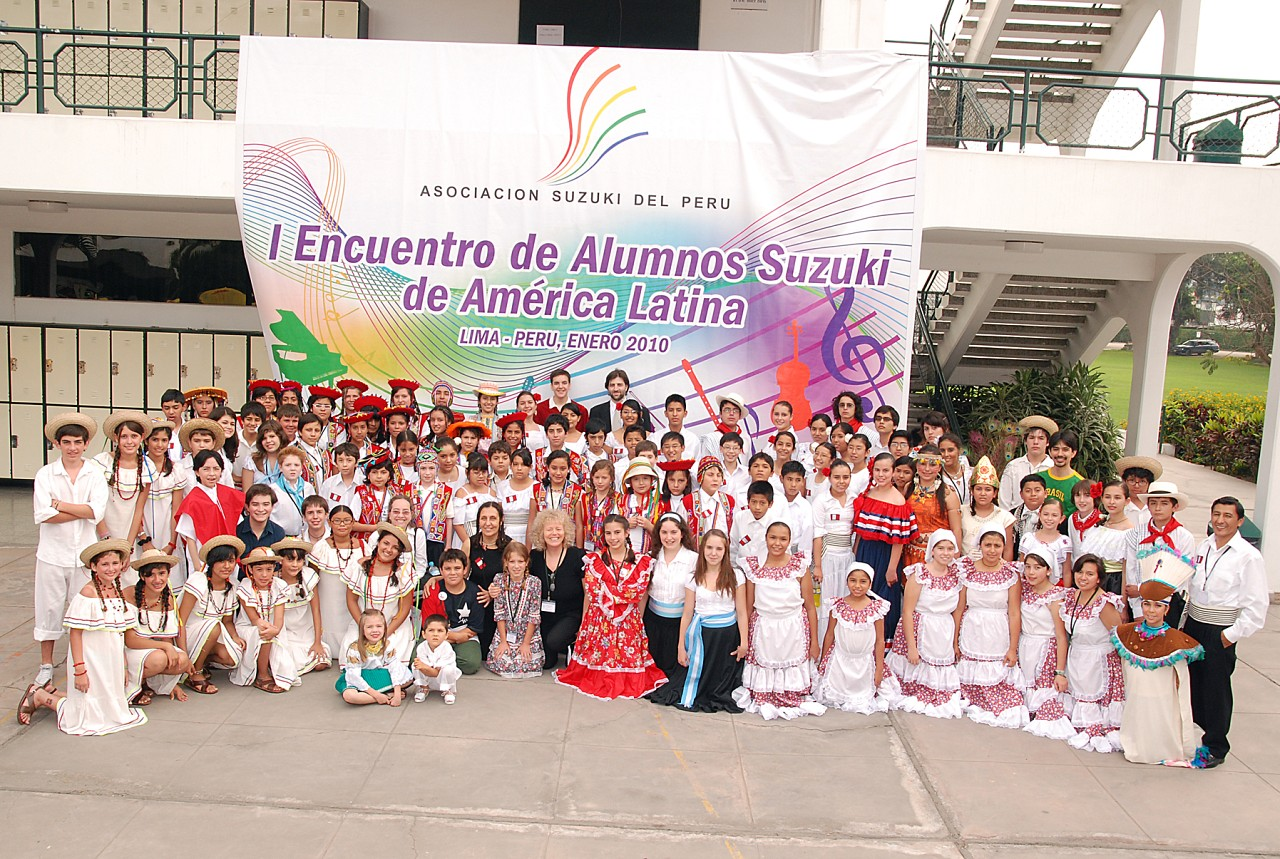 1st Latin American Suzuki Students' Gathering