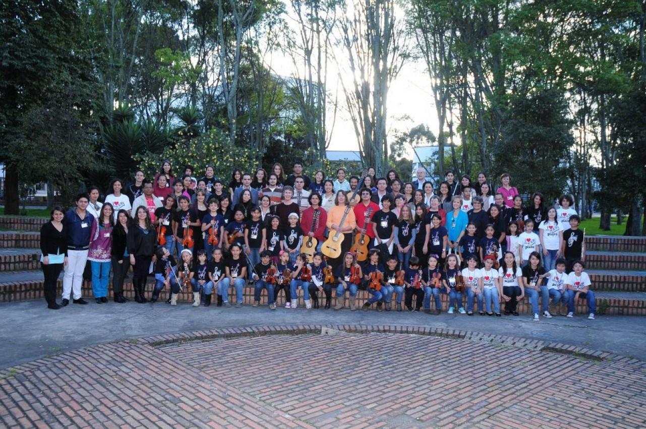 Colombia festival participants in 2012