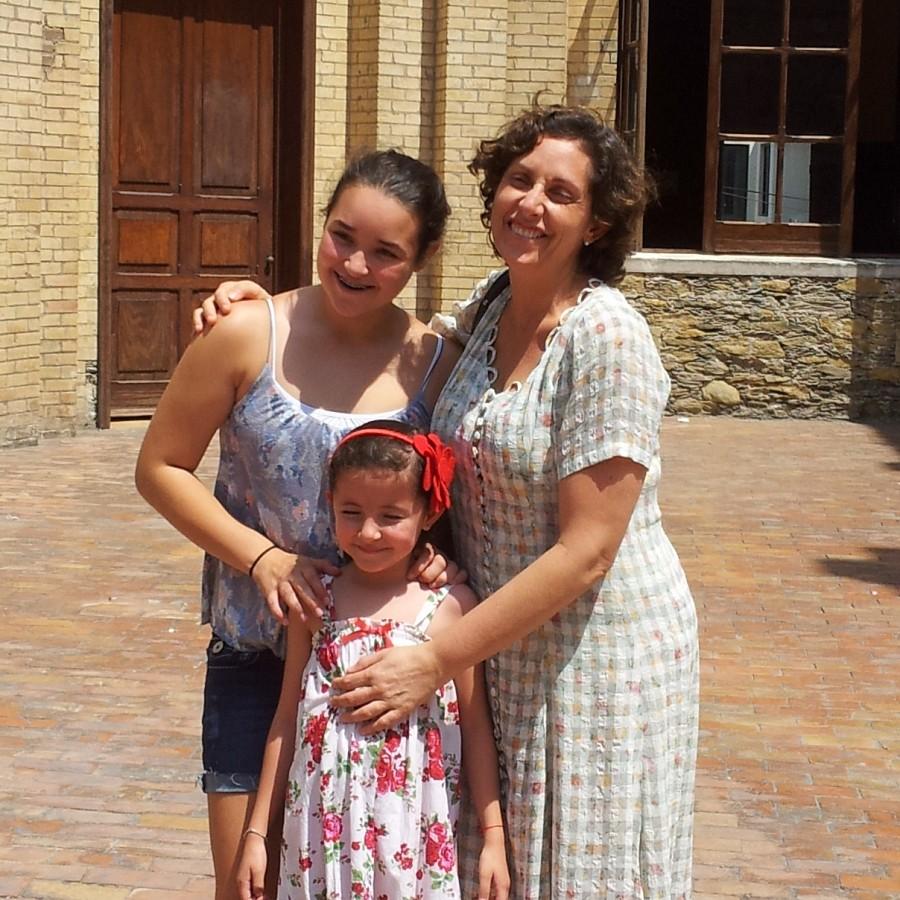 Ximena, Maria and Leslie in Monterrey, Mexico