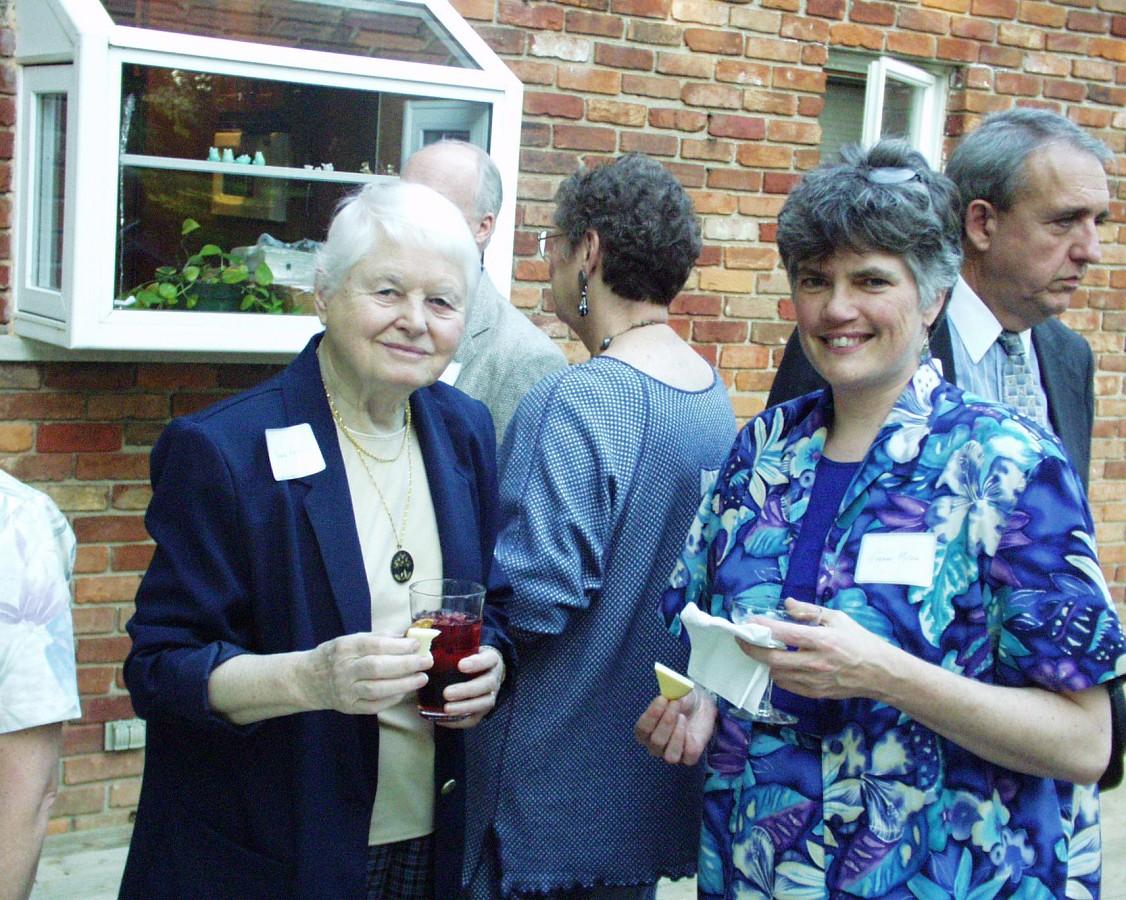 Margery Aber and Joanne Melvin