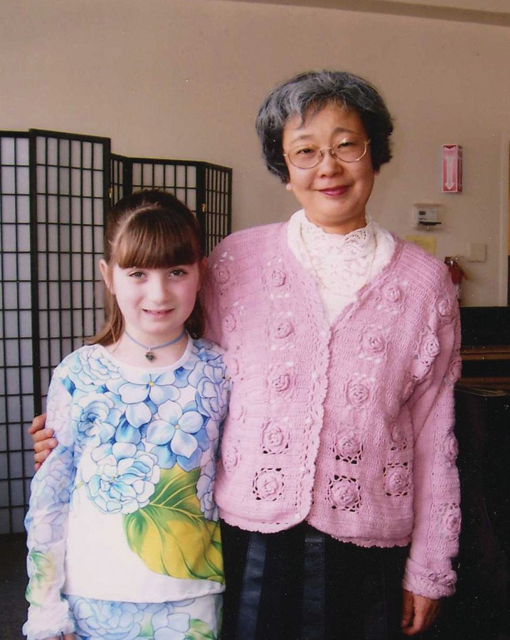 Yasuko Joichi and student