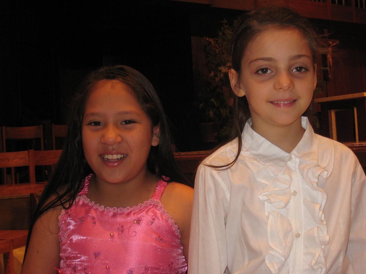 Maylin and Amparo
