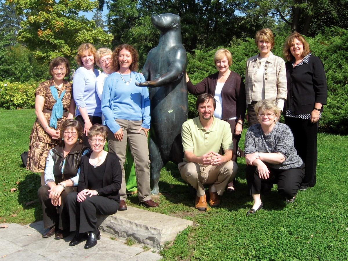 SAA Board members, September 2008
