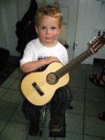 Suzuki guitar boy