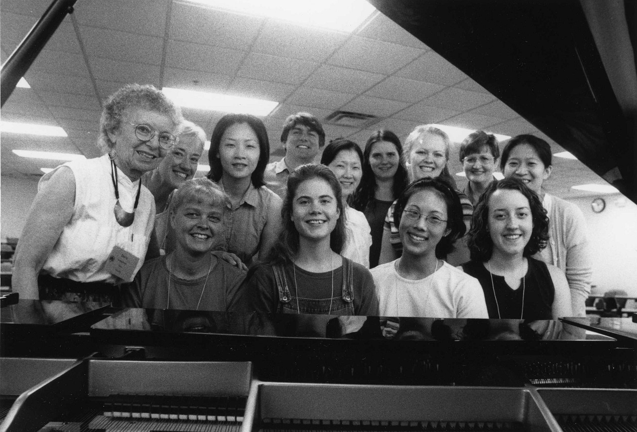 Doris Koppelman and piano teachers
