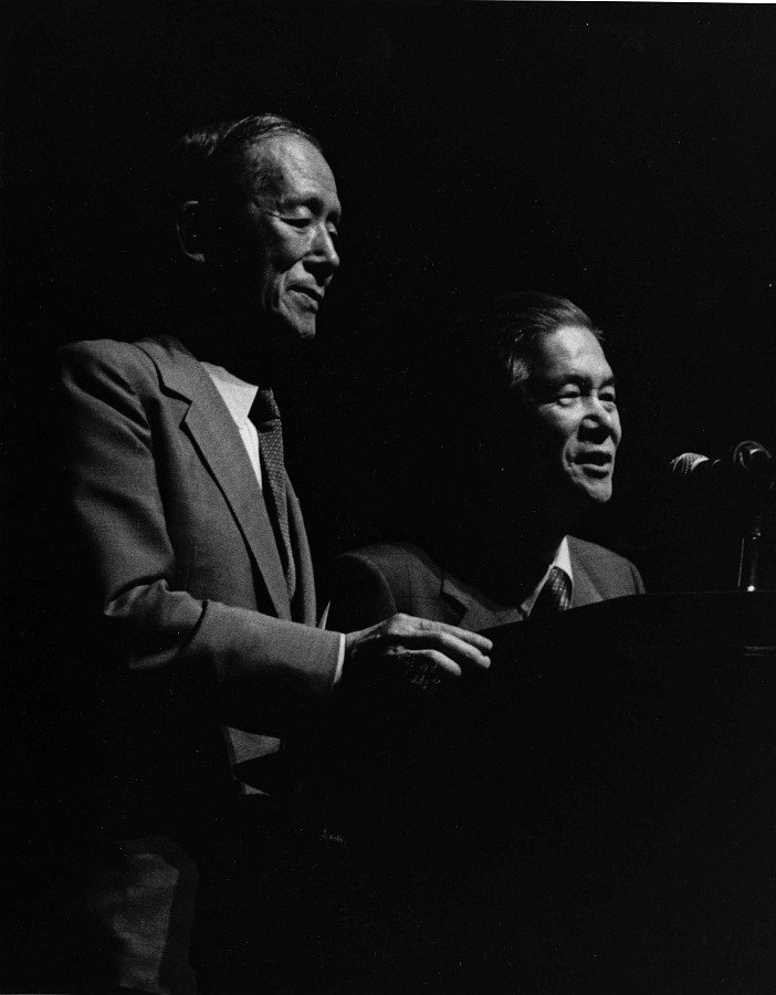 Dr. Shinichi Suzuki and Dr. Masaaki Honda