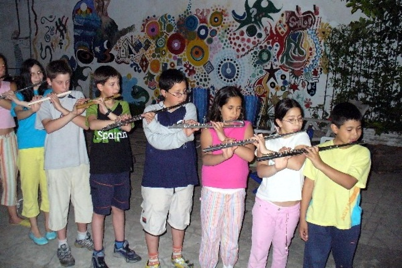 Suzuki flute group class