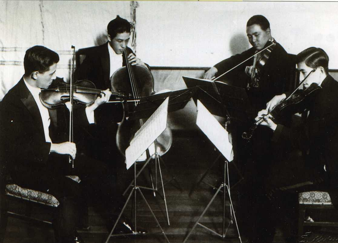 Suzuki String Quartet, four brothers
