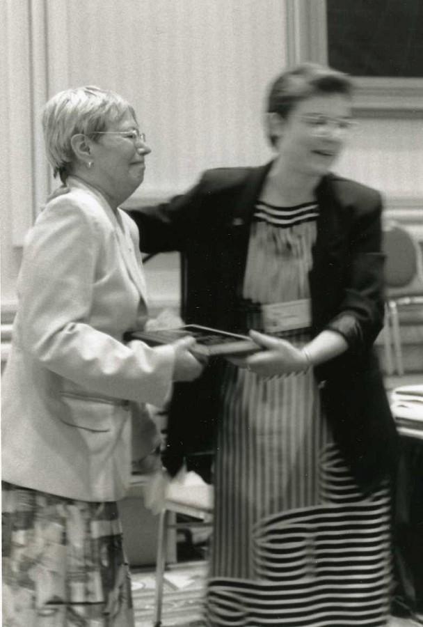 Daphne Hughes and Pat D'Ercole