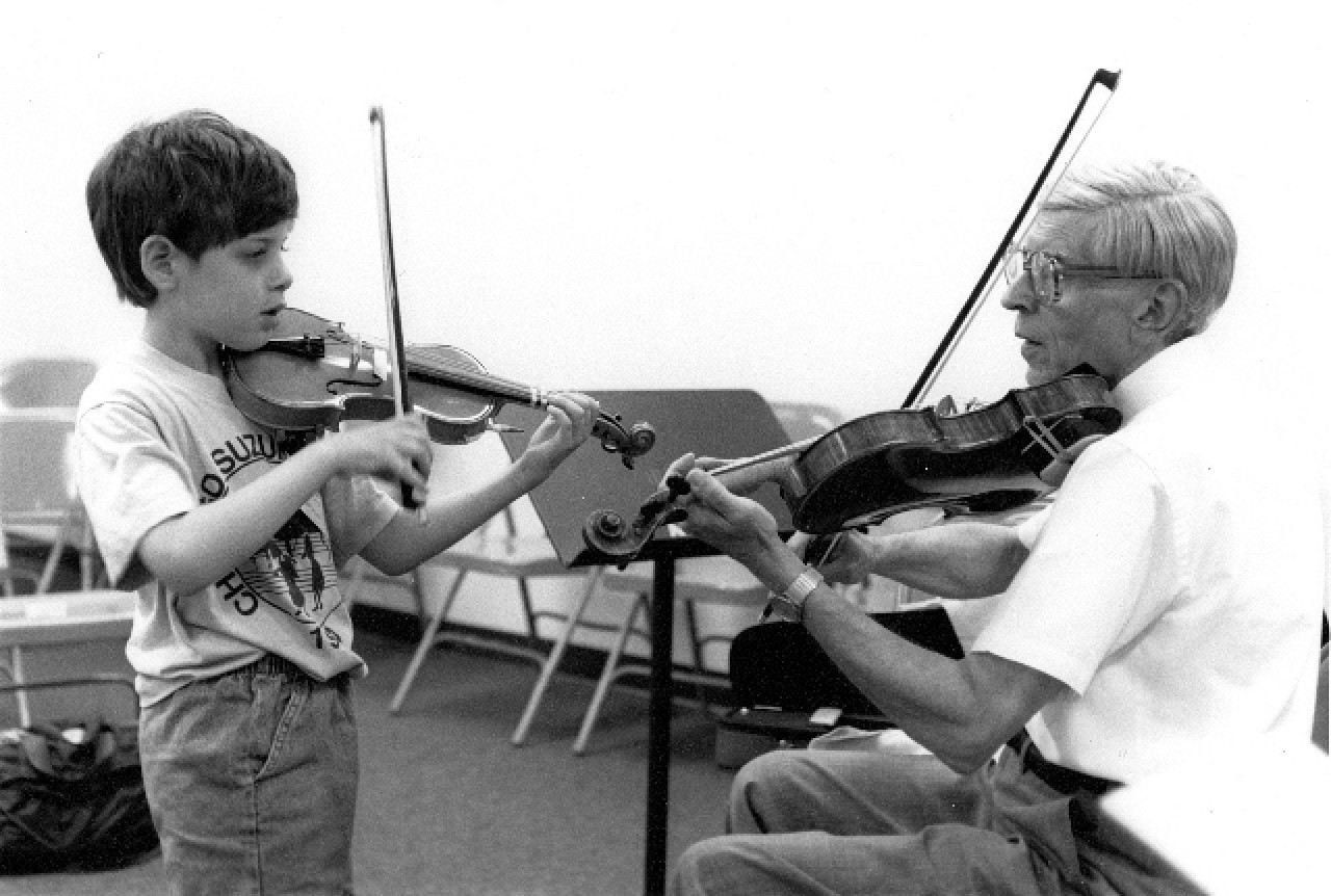 Milton Goldberg Teaching in 1994