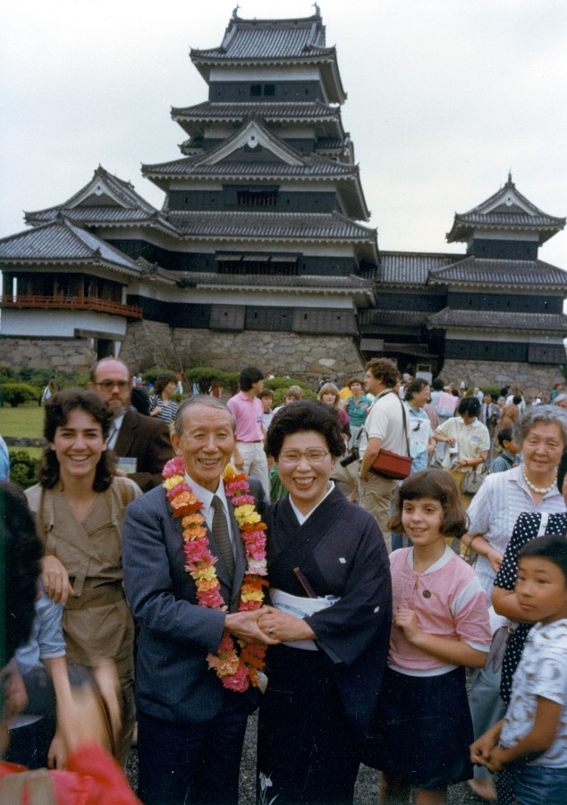 Dr. Shinichi Suzuki in Japan