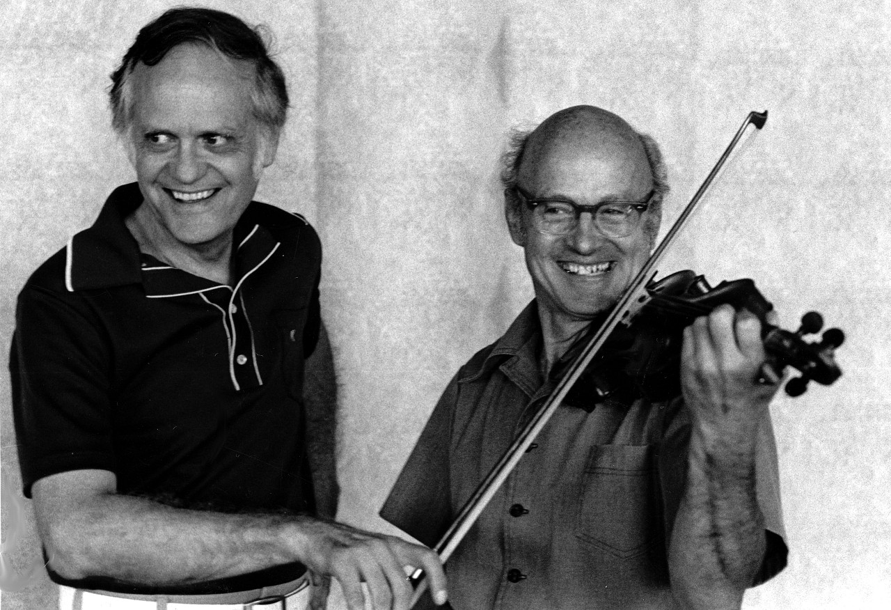 Bill Starr and John Kendall, August 1991