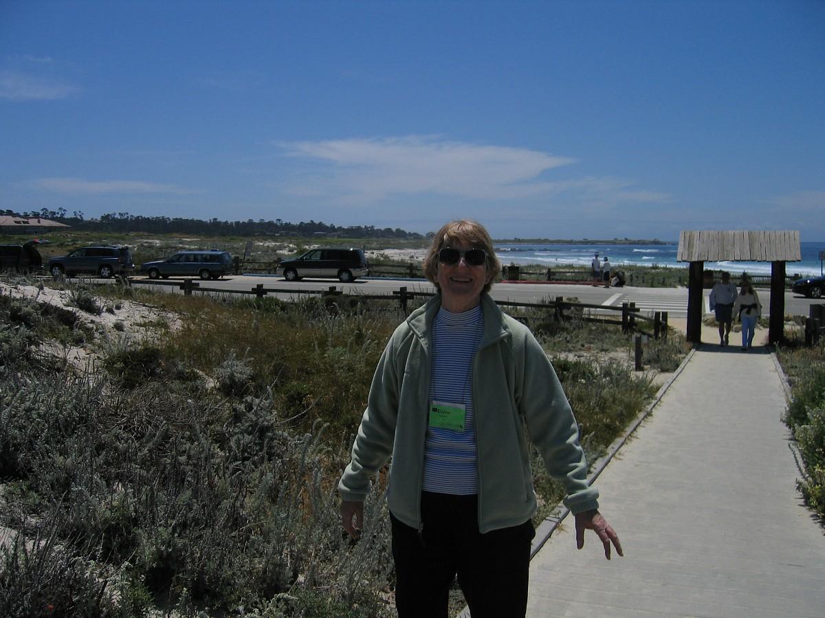 Elaine Badiere at the 2005 SAA Leadership Retreat