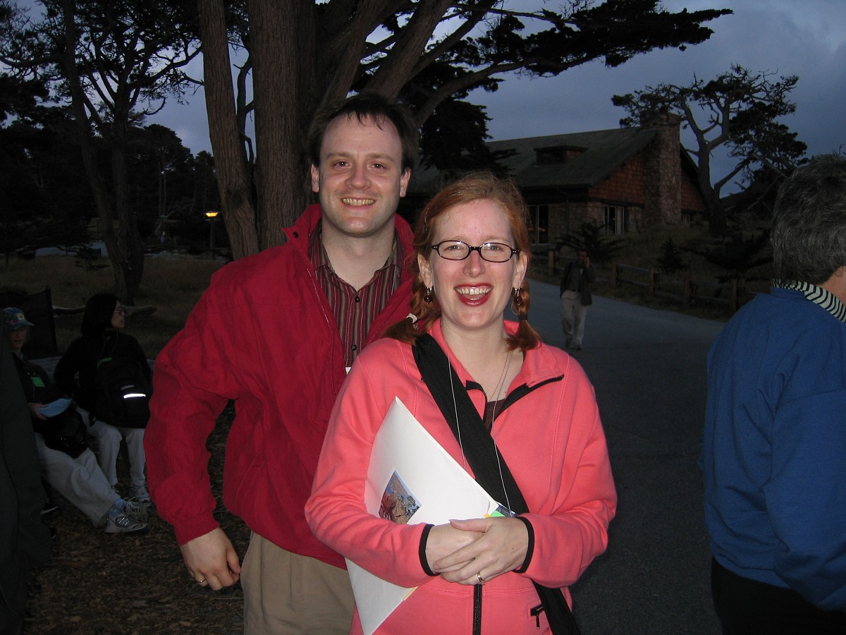Blake and Reagan Brasch at the 2005 SAA Leadership Retreat