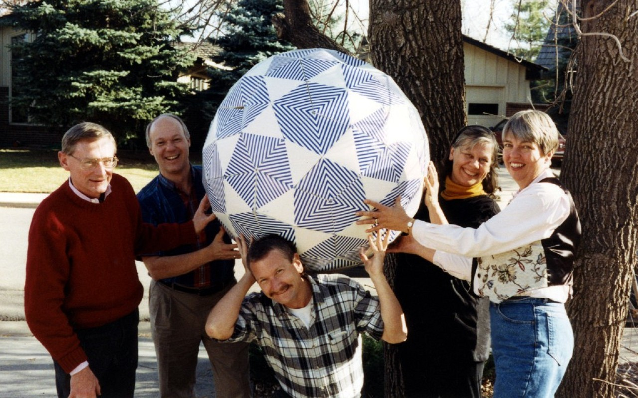 1992 Executive Committee. William Preucil, Jim Maurer, Jeff Cox, Cleo Brimhall, and others.