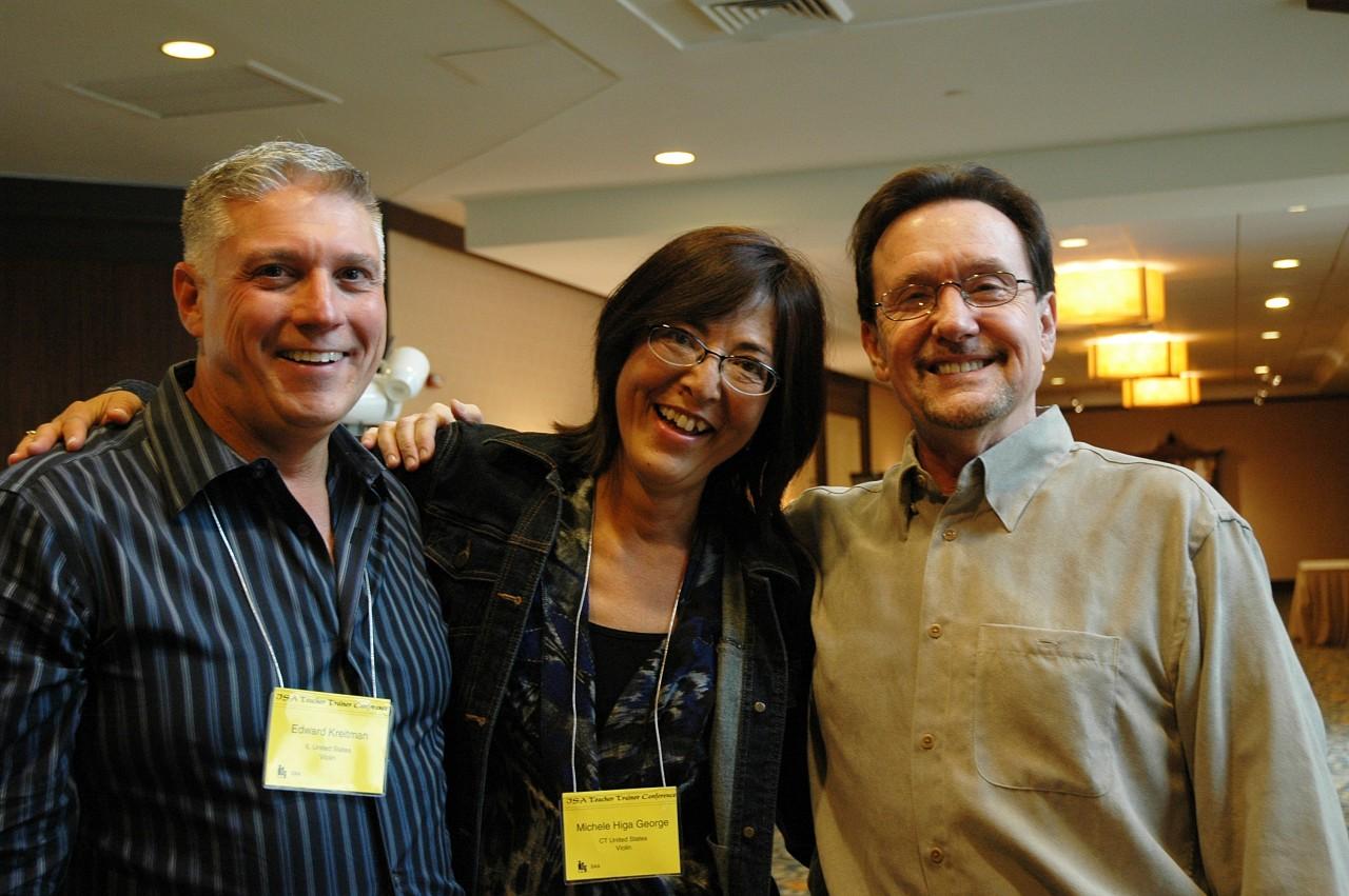 Ed Kreitman, Michele George, and Bruce Anderson