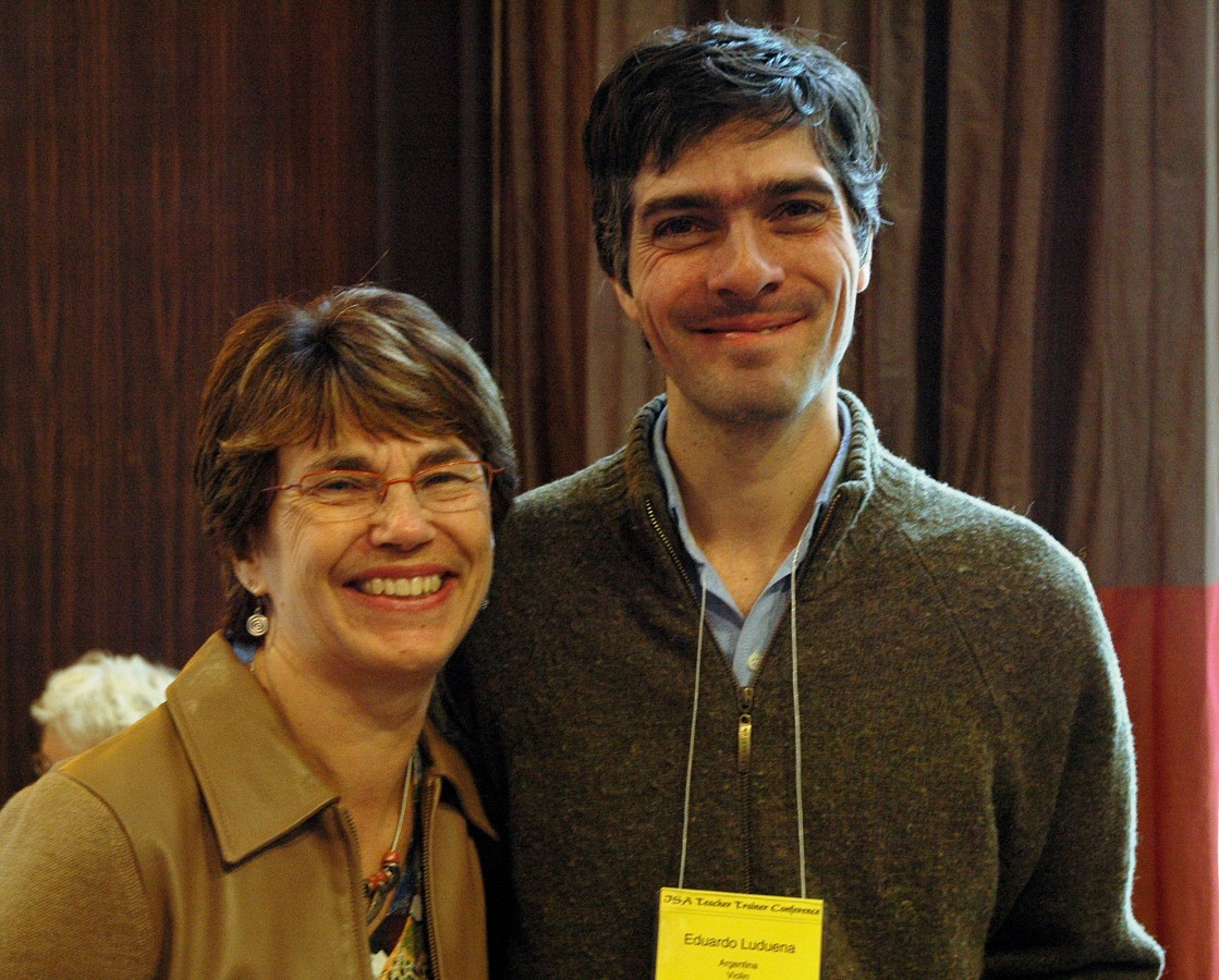 Nancy Lokken and Eduardo Ludueña