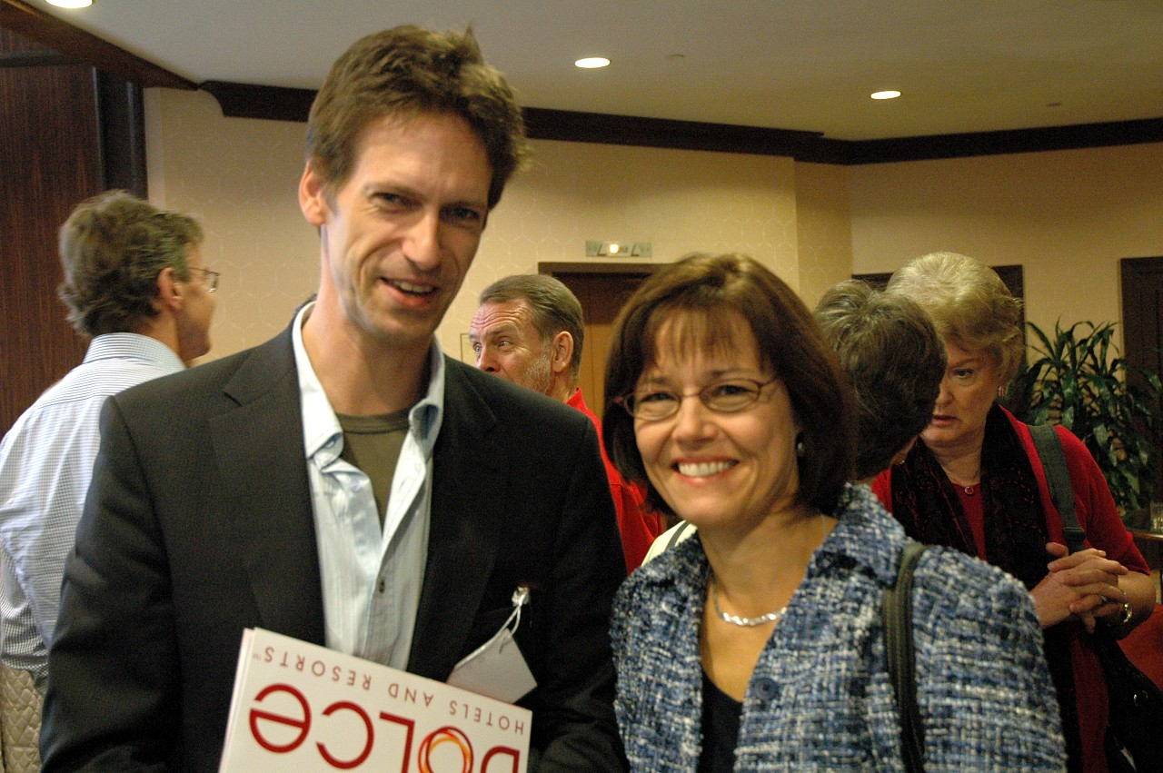 Koen Rens and Gail Johansen