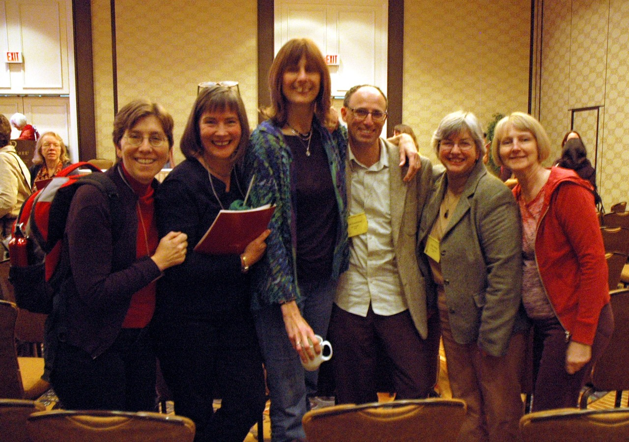 Susan Gagnon, Catherine Walker, Nancy Hair, David Evenchick, Sally Gross, and Alice Vierra