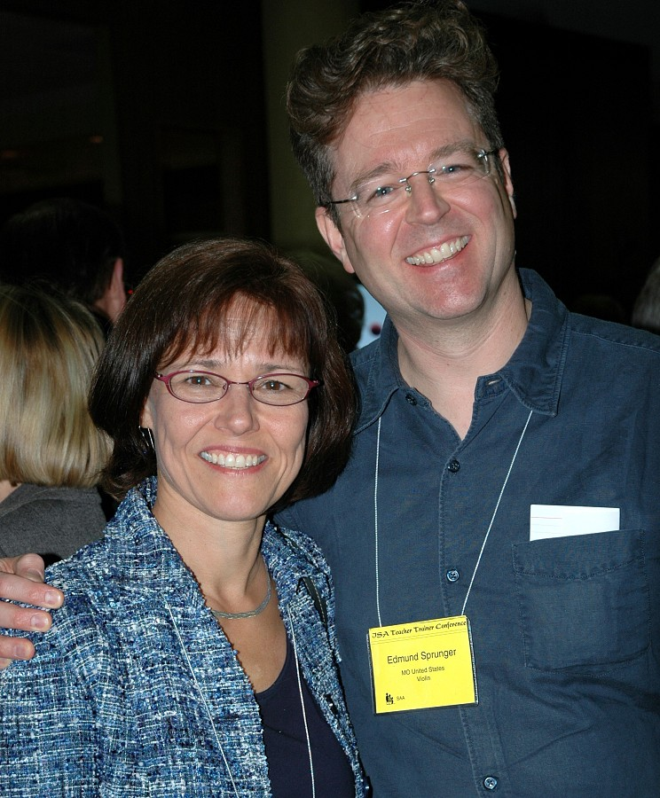 Gail Johansen and Ed Sprunger