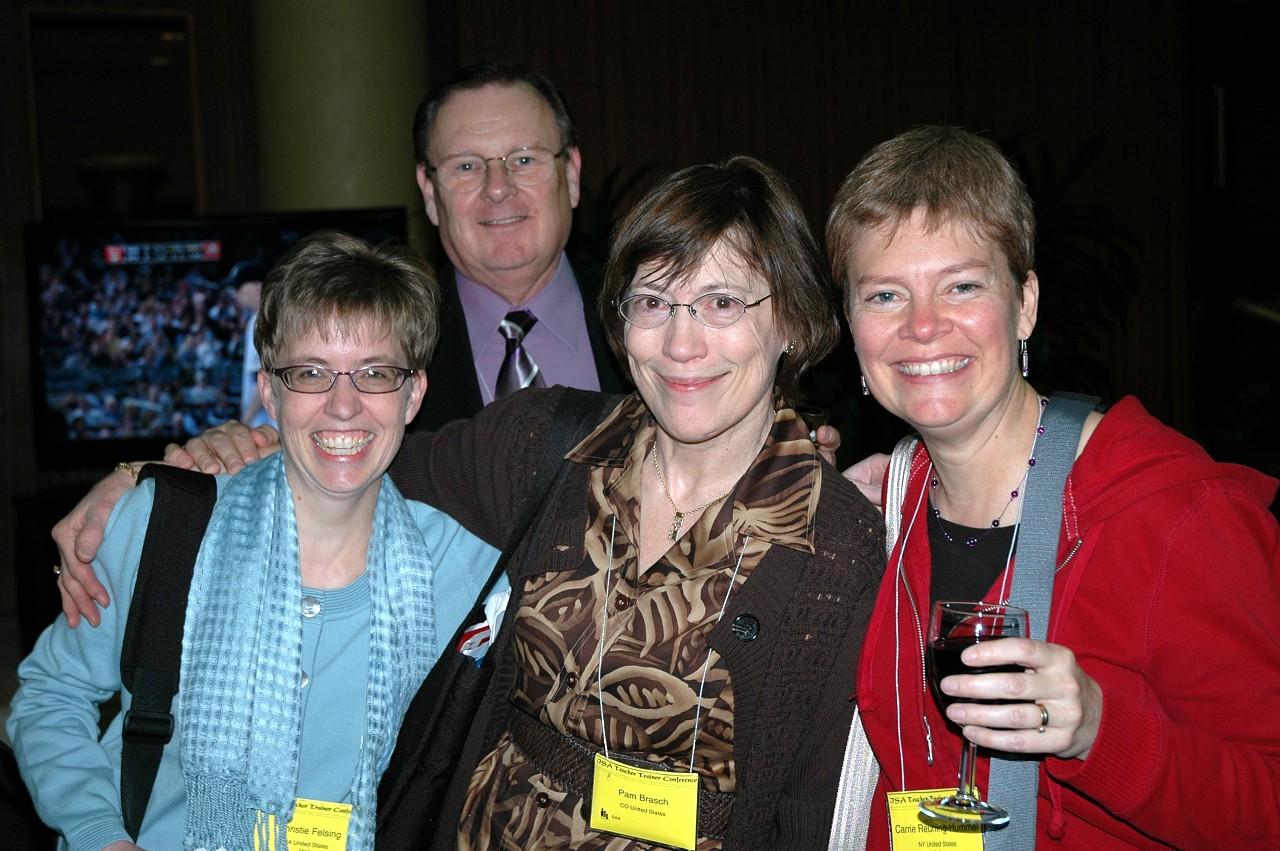 Christie Felsing, Paul Landefeld, Pam Brasch, and Carrie Reuning-Hummel