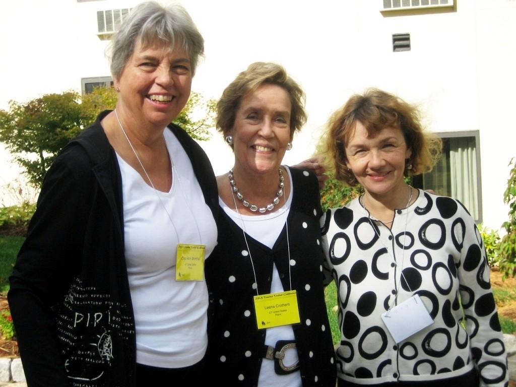 Cleo Brimhall, Leena Kareoja-Crothers, and Kasia Borowiak