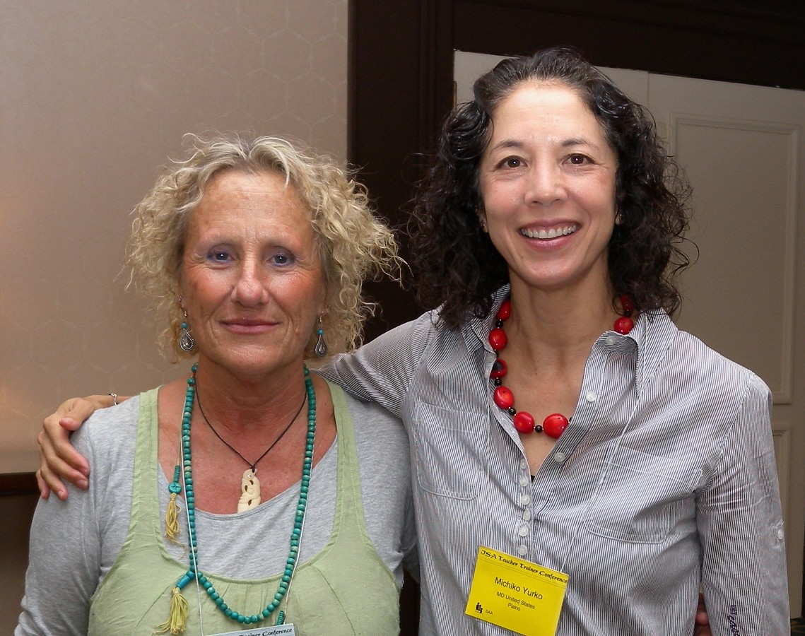 Zohara Rotem and Michiko Yurko