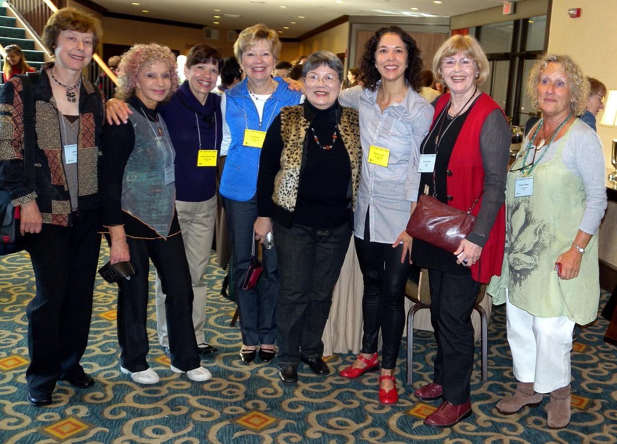 Julia Breen, Nehama Patkin, Jane Kutcher Reed, Fay Adams, Carmencita Armabulo, Michiko Yurko, Erica Booker, and Zohara Rotem