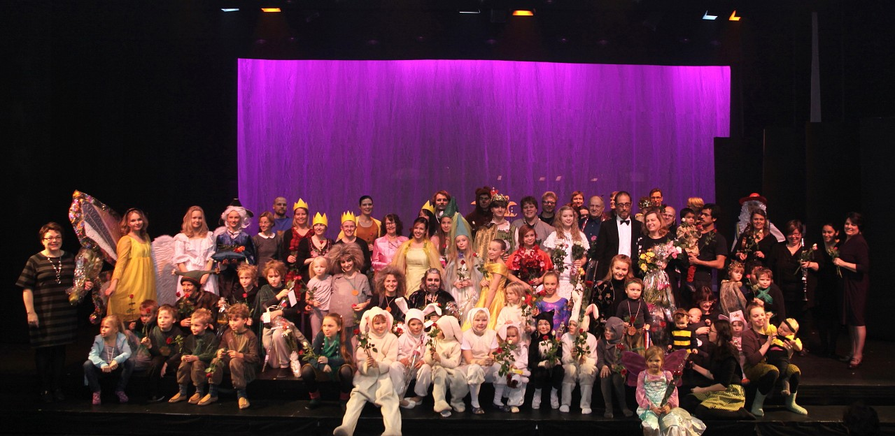 Suzuki Voice Students' 25th anniversary musical in Finland