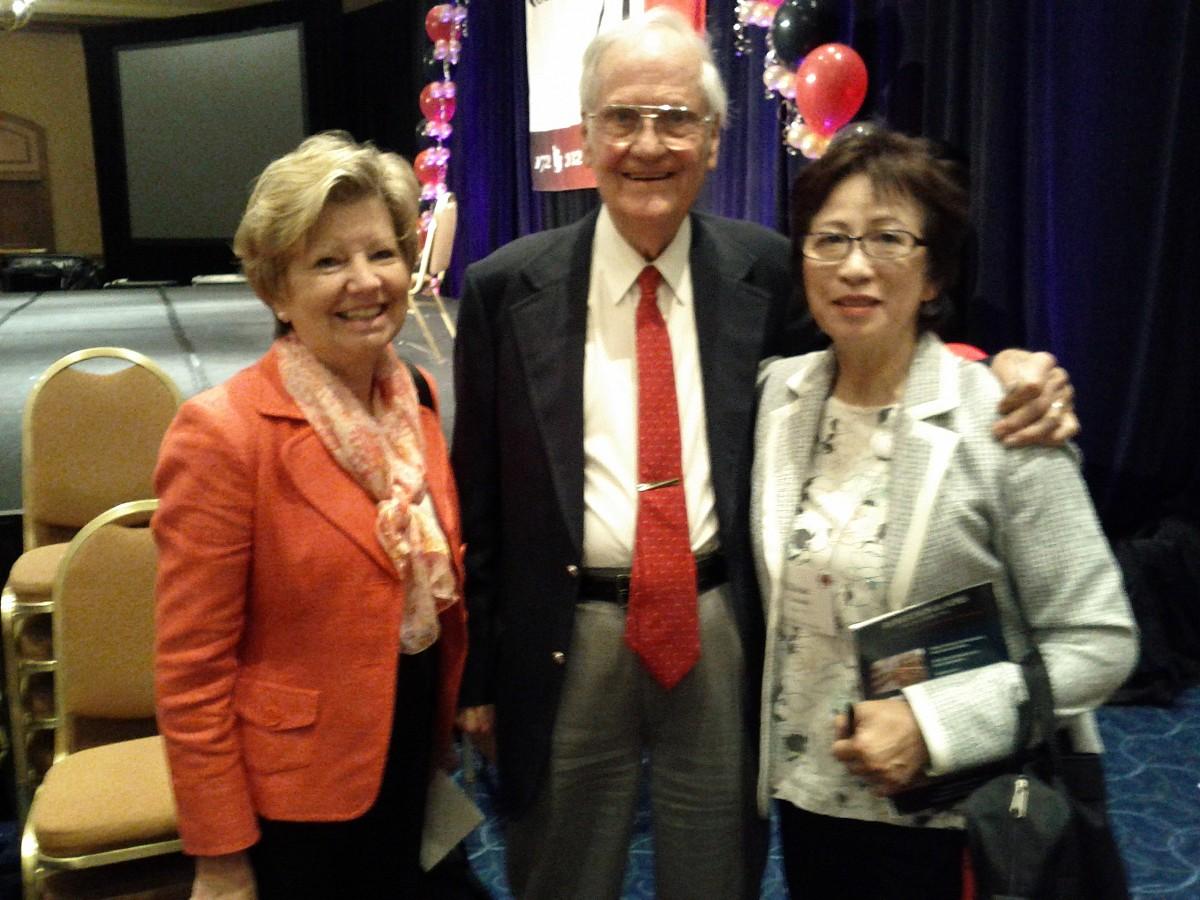Fay Adams, Bill Starr, and Kikue Yamada at the 2012 Conference