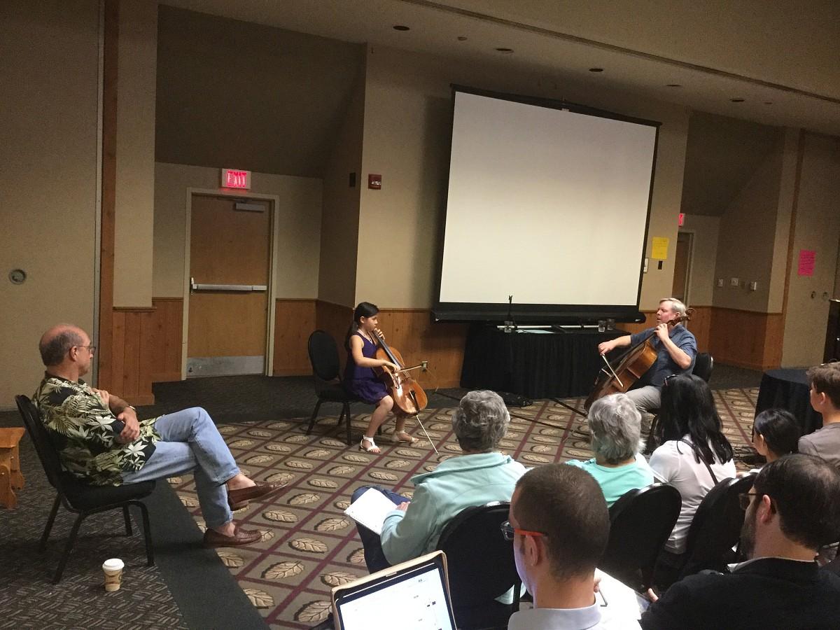 SAA Leadership Retreat Cello Sessions