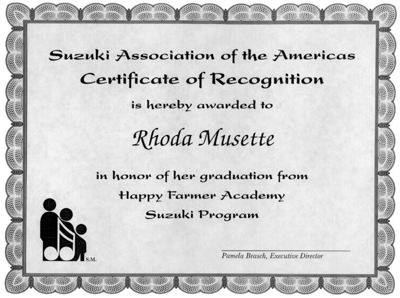Graduation certificates store suzuki association of the americas graduation certificates xflitez Images